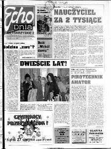 Echo Dnia 1999, R.25, nr 196 (Świętokrzyskie)