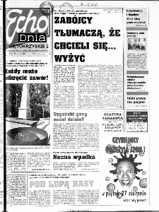 Echo Dnia 1999, R.25, nr 197 (Świętokrzyskie 2)