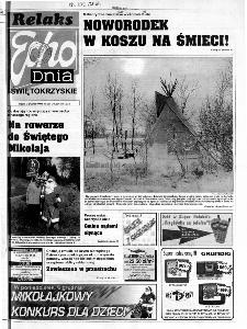 Echo Dnia 1999, R.25, nr 281 (Świętokrzyskie)