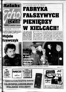 Echo Dnia 1999, R.25, nr 287 (Świętokrzyskie)