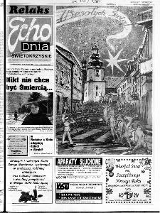 Echo Dnia 1999, R.25, nr 296 (Świętokrzyskie)
