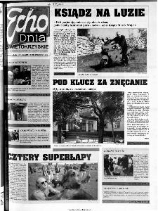 Echo Dnia 2000, R.25, nr 110 (Świętokrzyskie)