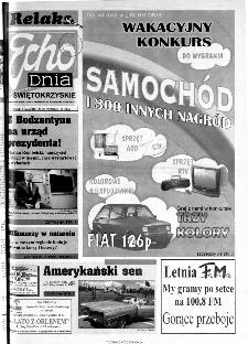Echo Dnia 2000, R.25, nr 156 (Świętokrzyskie)