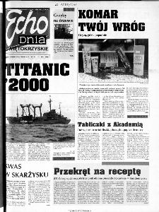 Echo Dnia 2000, R.25, nr 192 (Świętokrzyskie)