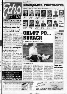 Echo Dnia 2000, R.25, nr 198 (Świętokrzyskie)