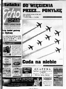 Echo Dnia 2000, R.25, nr 215 (Świętokrzyskie)