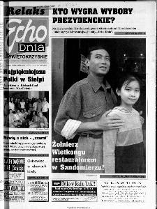 Echo Dnia 2000, R.25, nr 233 (Świętokrzyskie)