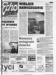 Echo Dnia 2000, R.25, nr 253 (Świętokrzyskie)
