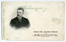 Pozdrowienie z ... : Bolesław Prus (Aleksander Głowacki) [...]