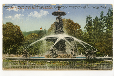 Graz. Franz Josef Brunnen in Stadtpark