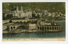 Monte-Carlo. Le Casino.