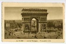 Paris. Arc de Triomphe.