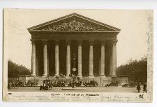 Paris. L'egalise de la Madeleine.