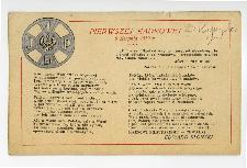 [Pierwszej Kadrowej 6 sierpnia 1919 r.]