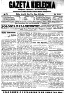 Gazeta Kielecka, 1913, R.44, nr 121