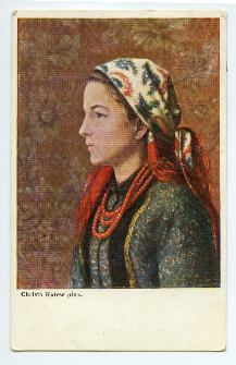 [Portret kobiety].