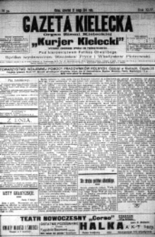 Gazeta Kielecka, 1914, R.45, nr 107