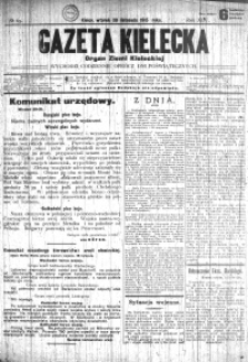 Gazeta Kielecka, 1915, R.46, nr 10