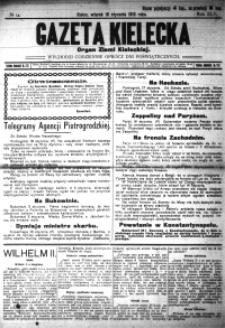 Gazeta Kielecka, 1915, R.46, nr 11