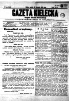 Gazeta Kielecka, 1916, R.47, nr 105