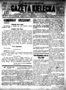 Gazeta Kielecka, 1917, R.48, nr 54