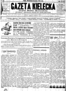 Gazeta Kielecka, 1919, R.50, nr 160