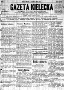 Gazeta Kielecka, 1919, R.50, nr 206
