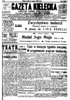 Gazeta Kielecka, 1920, R.51, nr 100