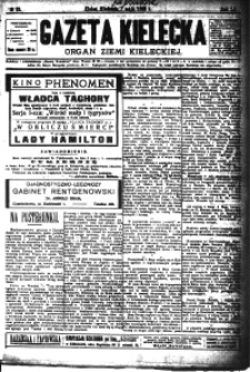 Gazeta Kielecka, 1922, R.53, nr 11