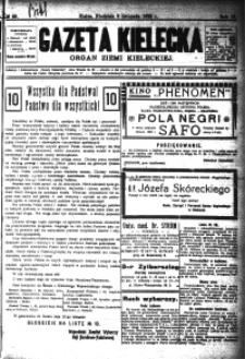 Gazeta Kielecka, 1923, R.54, nr 1