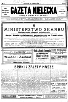 Gazeta Kielecka, 1924, R.55, nr 4
