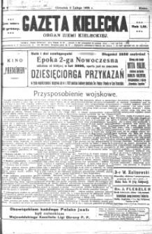 Gazeta Kielecka, 1925, R.56, nr 1