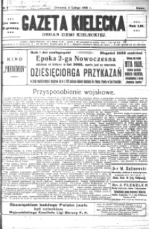 Gazeta Kielecka, 1925, R.56, nr 84