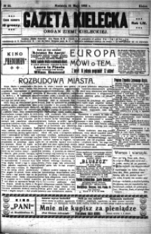 Gazeta Kielecka, 1925, R.56, nr 88