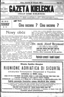 Gazeta Kielecka, 1926, R.57, nr 15