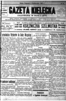 Gazeta Kielecka, 1927, R.58, nr 4