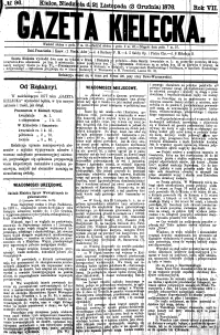 Gazeta Kielecka, 1876, R.7, nr 4