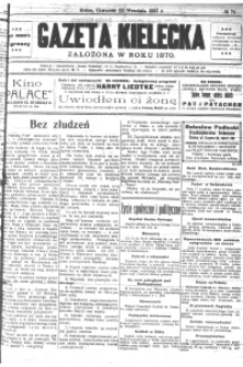Gazeta Kielecka, 1927, R.58, nr 95