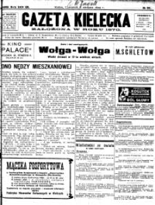 Gazeta Kielecka, 1929, R.60, nr 34