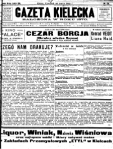 Gazeta Kielecka, 1929, R.60, nr 73