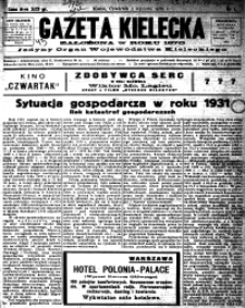 Gazeta Kielecka, 1932, R.63, nr 2