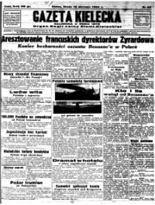 Gazeta Kielecka, 1934, R.65, nr 135