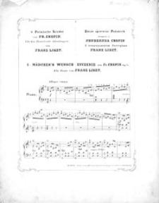 Mädchen`s Wunsch = Życzenie : op. 74, nr 1