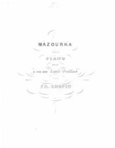 Mazourka : pour le piano : [op. 43]