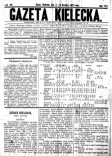 Gazeta Kielecka, 1877, R.8, nr 1