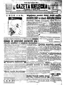 Gazeta Kielecka, 1936, R.67, nr 157