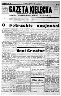 Gazeta Kielecka, 1939, R.70, nr 43