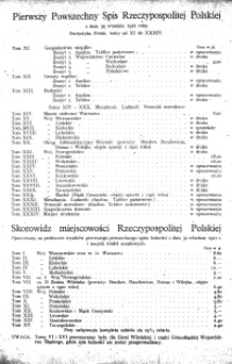 Pierwszy Powszechny Spis Rzeczypospolitej Polskiej z dnia 30 września 1921 roku : mieszkania, ludność, stosunki zawodowe : województwo kieleckie.