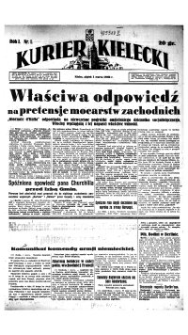 Kurier Kielecki, 1940, nr 187