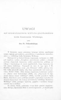 Uwagi nad ustawodawstwem wiślicko-piotrkowskiem Króla Kazimierza Wielkiego